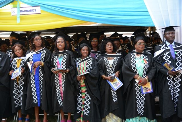 Valedictory Speech by a Graduand at the 14th Congregation, Dansoman
